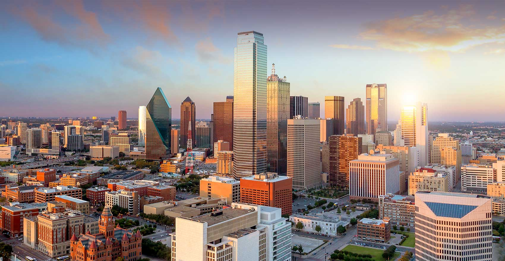 Photograph of the city of Dallas, Texas